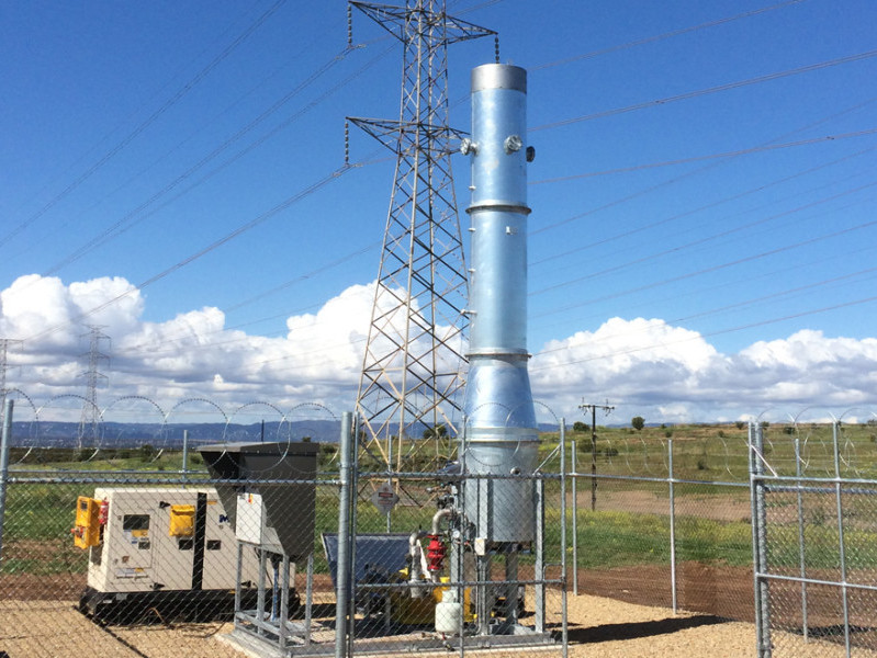 Landfill Gas Monitoring at Pacific Environment