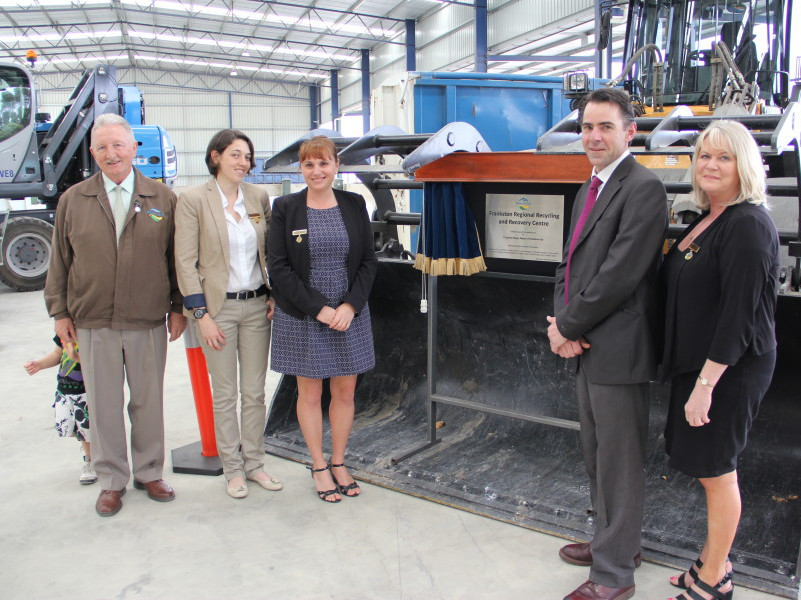Frankston Regional Recycling & Resource Recovery Centre opening