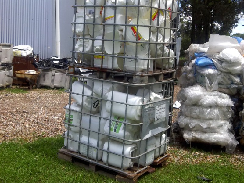 New 'Lift and Load' service to collect chemical drums