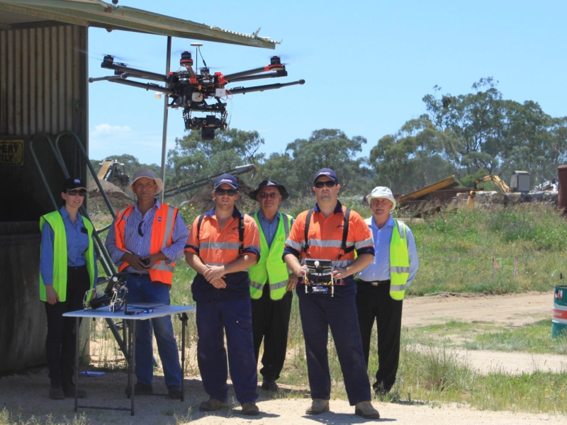 Council uses drone to inform landfill management plan