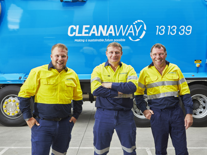 Cleanaway relaunches with new look
