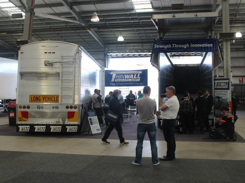 Thinwall Trailers at ITTES 2016