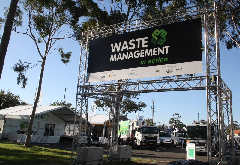 Waste Management In Action outdoor entry 2