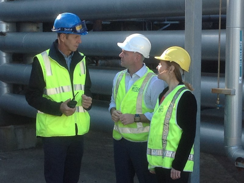 Waste fully powers NSW water treatment plant