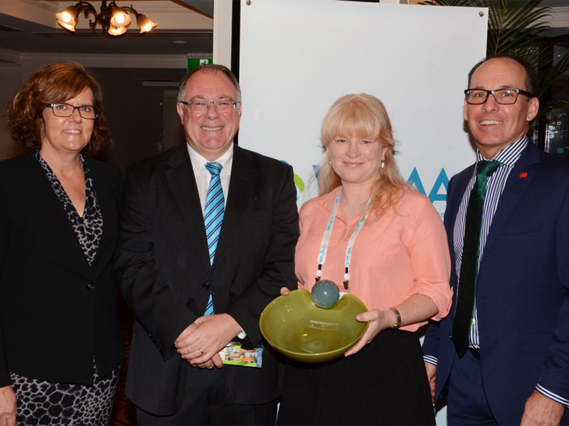 Jenkins wins first SA Women in Waste Award