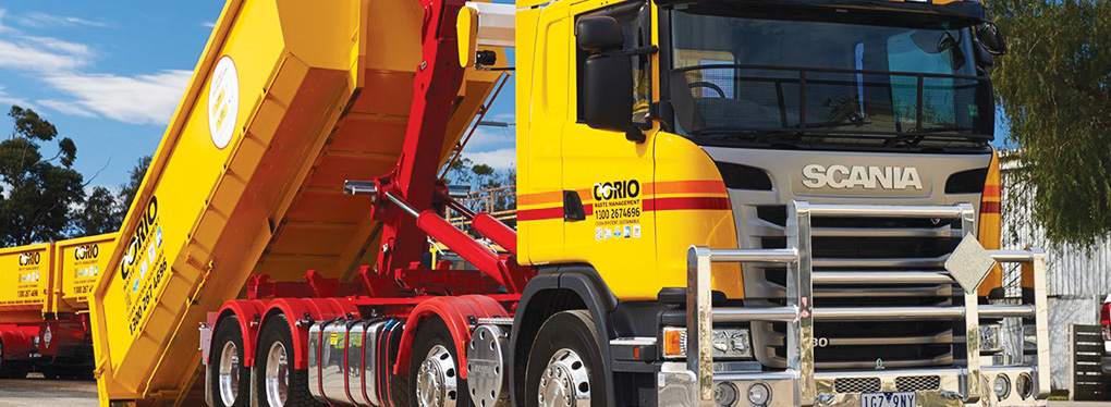 Corio Waste Management keeps the wheels turning