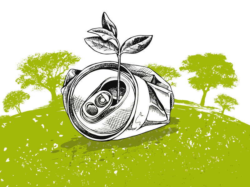 The green aims of container deposit legislation (CDS)