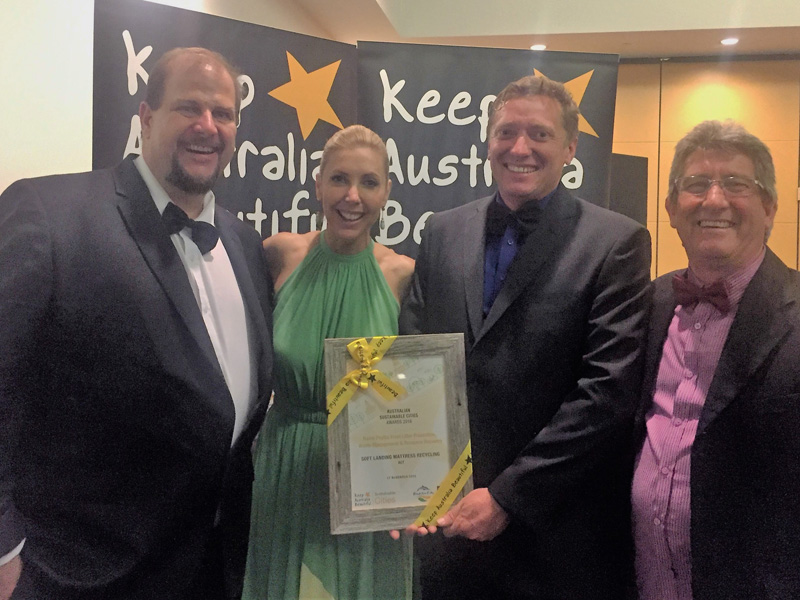 Soft Landing ACT take national prize at KAB's Sustainable Cities Awards