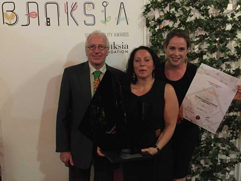 Banksia accolade adds to award-winning year for TIC