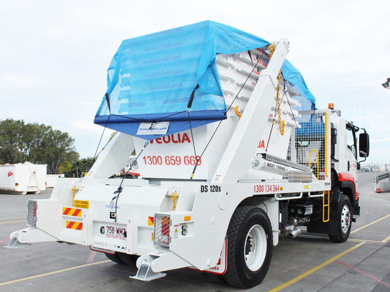 West-Trans launches new waste tarp technology