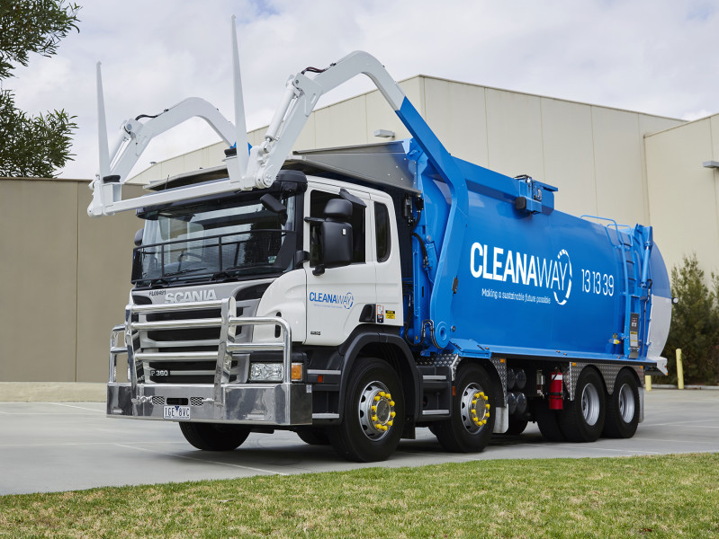 Cleanaway contract with The Hills Shire Council begins