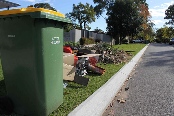 Less waste means less cost for City of Nedlands