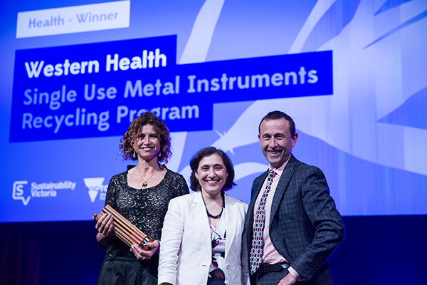 The winners of the Premiers Sustainability Awards 2017