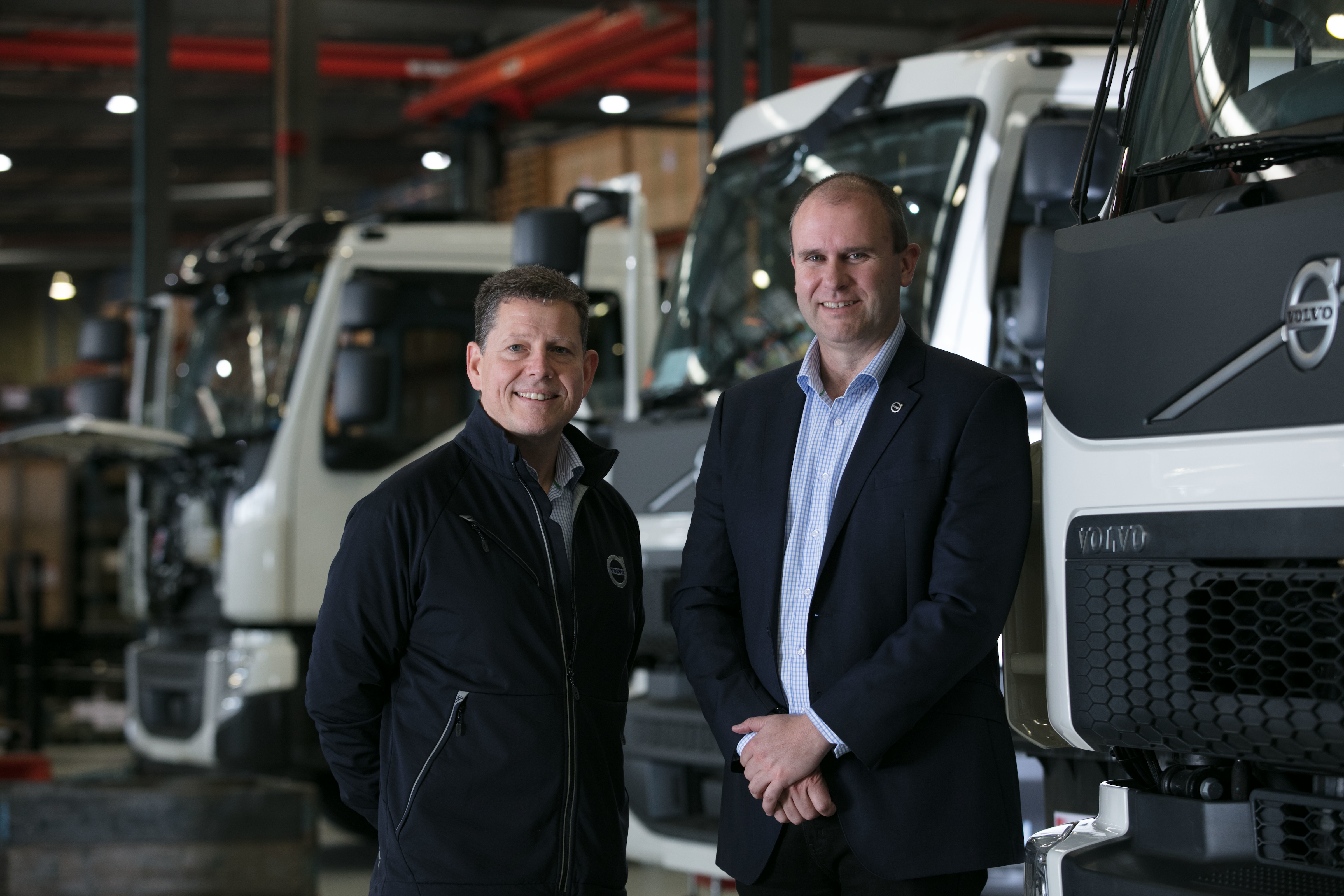 From paper to production: Volvo FE Euro 6 Dual Control