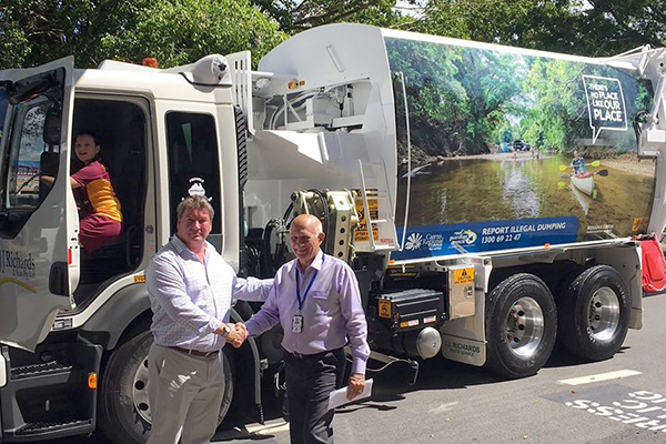 J.J. Richards & Sons takes over Cairns Regional Council kerbside