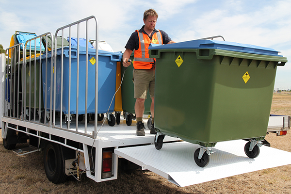 Five tips for choosing the right commercial bin