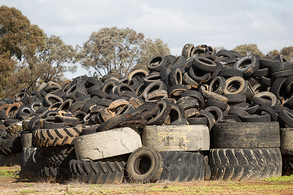 New recycling technology processes tyres into resources