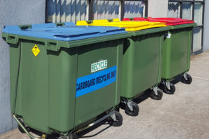 Mobile Bins Australia offers a hot stamping service to its customers.
