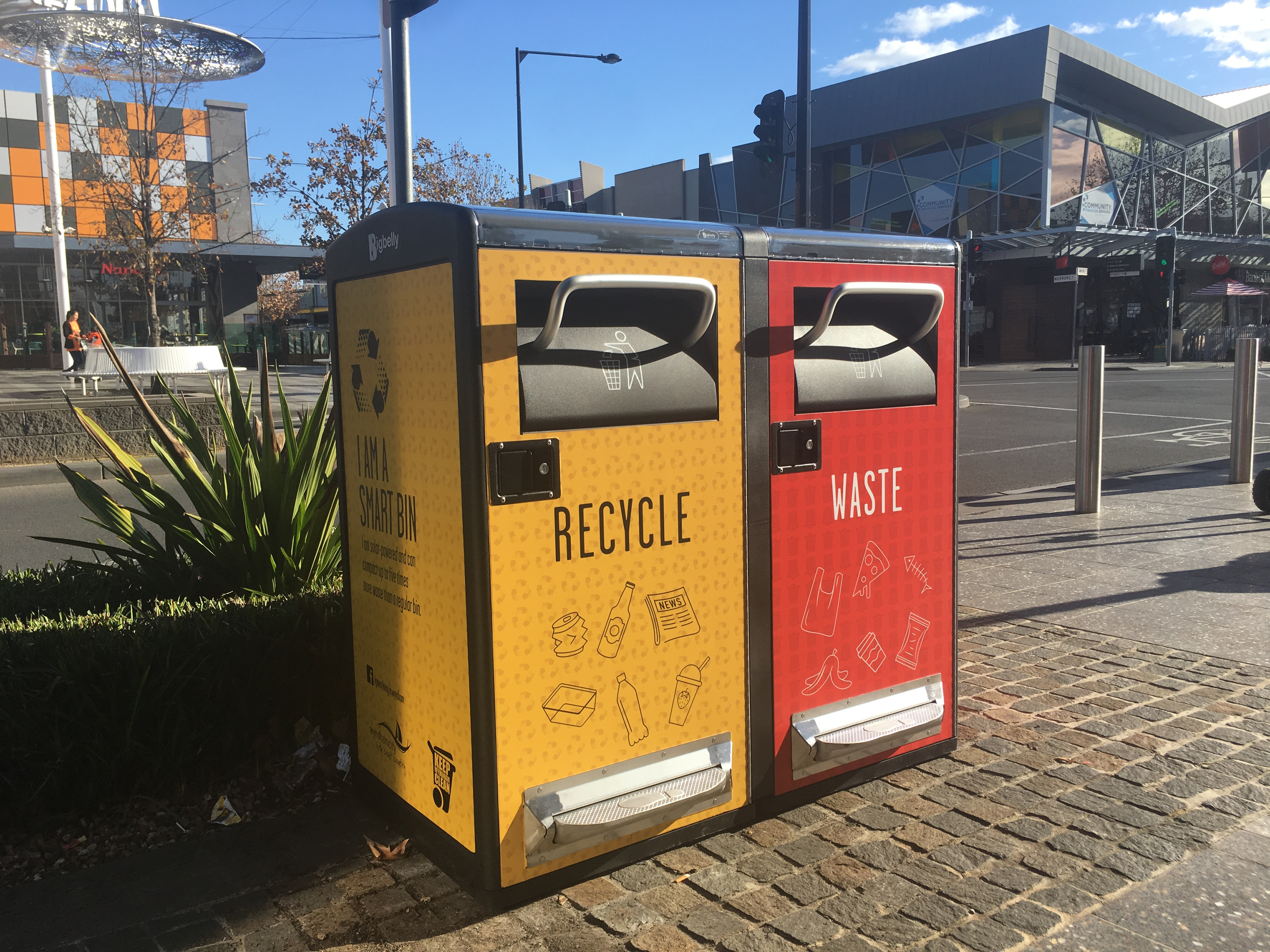 Councils benefit from Solar Bins Australia