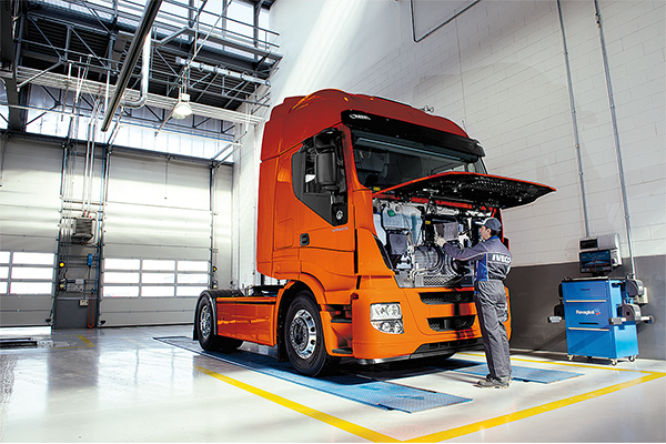 IVECO's Personalised Maintenance Contracts