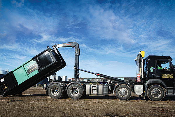 Hiab brand hauls with ease