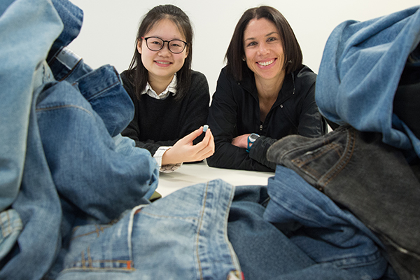 Deakin researchers could recycle jeans into joints
