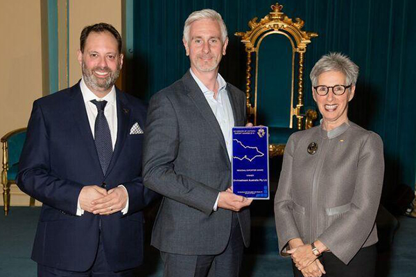 Recycling company wins Governor of Victoria export award