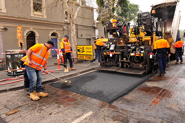 City of Yarra uses recycled glass and plastic in road resurfacing