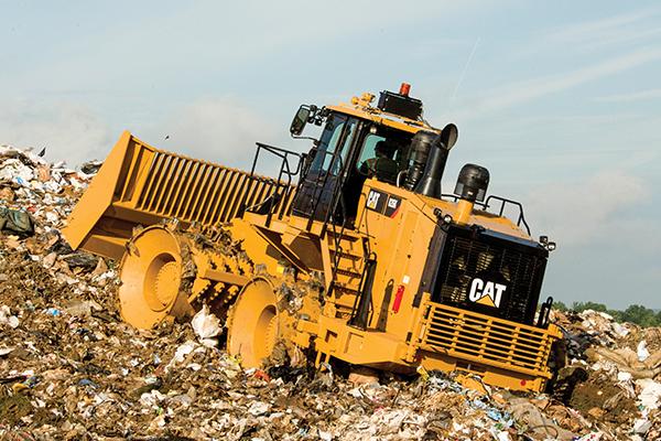 Cat 826K Landfill Compactor