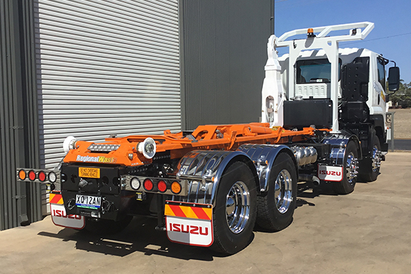 Palfinger supplies Regional Waste CQ with T22A Hookloader