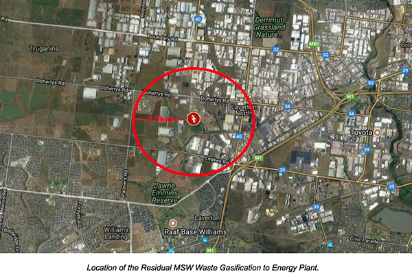 Recovered Energy Australia submits WtE planning application