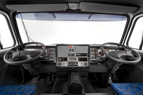 IVECO factory dual control systems