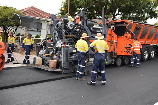 City of Mitcham uses waste tyres in asphalt trial