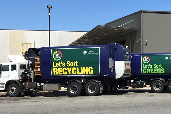 Three-bin rollout for the City of Joondalup