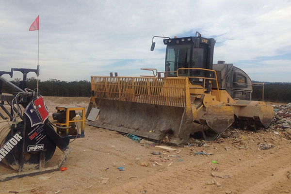 Shoalhaven City Council optimises landfill with Carlson LandfillGrade