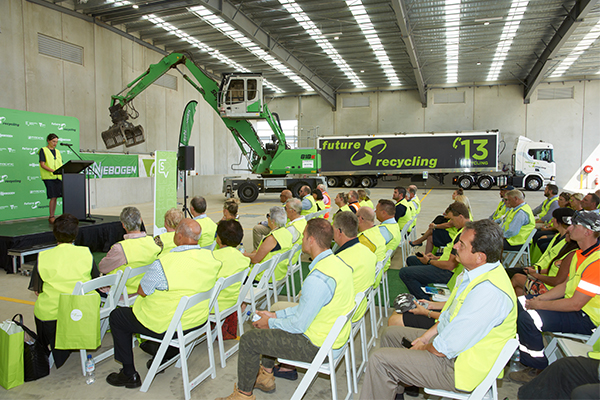 Future Recycling unveils revamped transfer station