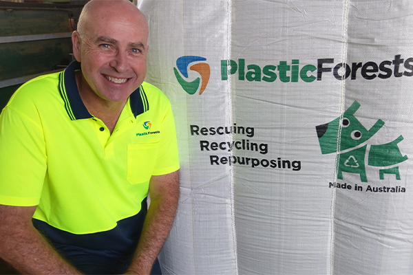 Plastic Forests releases product made entirely from recycled plastic film