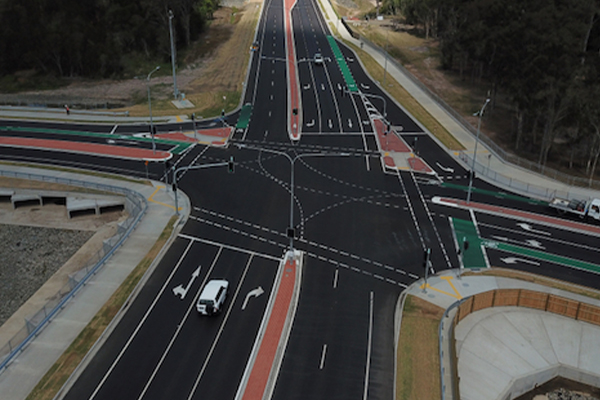Geelong installs recycled roundabout