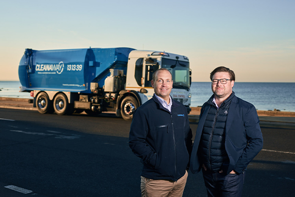 Cleanaway trials electric waste collection vehicles