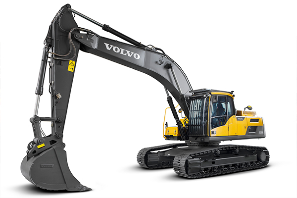 Volvo EC250D and EC300D excavators