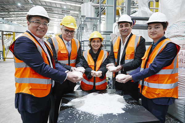 Australia's largest plastics recycling plant opens