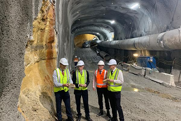 Sydney Metro reuses sandstone