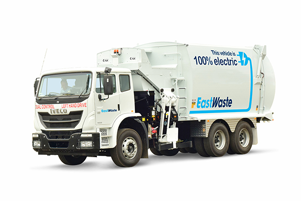 East Waste to commission electric waste collection truck