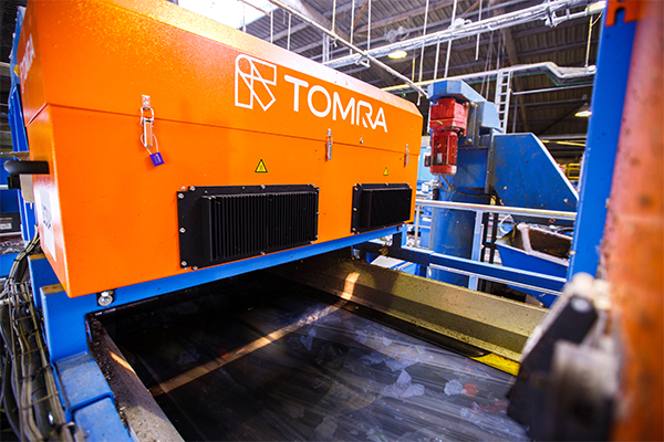 TOMRA Sorting's near-infrared technology