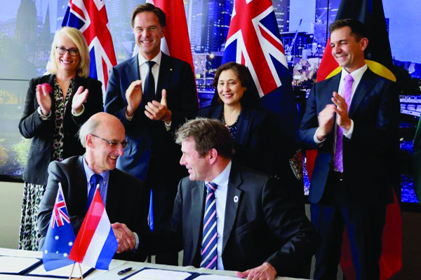 Dutch and Australian foundations sign circular economy MOU
