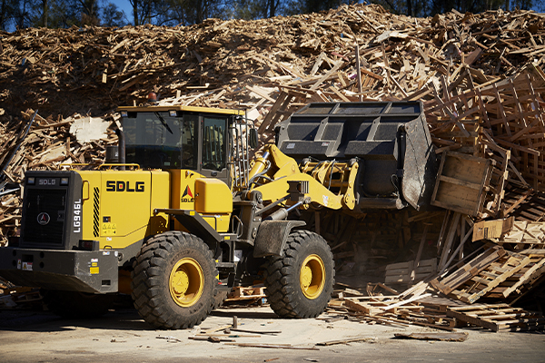 Fully loaded timber: CJD Equipment