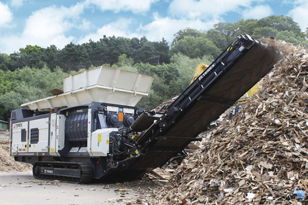 VIDEO: Terex TDSV20 medium speed shredder