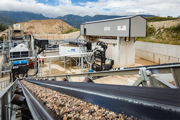 Concentrating contaminants: CDE