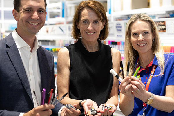 National recycling scheme launches for batteries and plastic pens