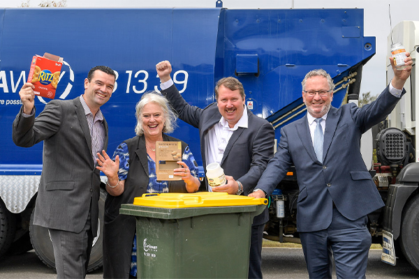 Recycling returns to G21 region under Cleanaway agreement